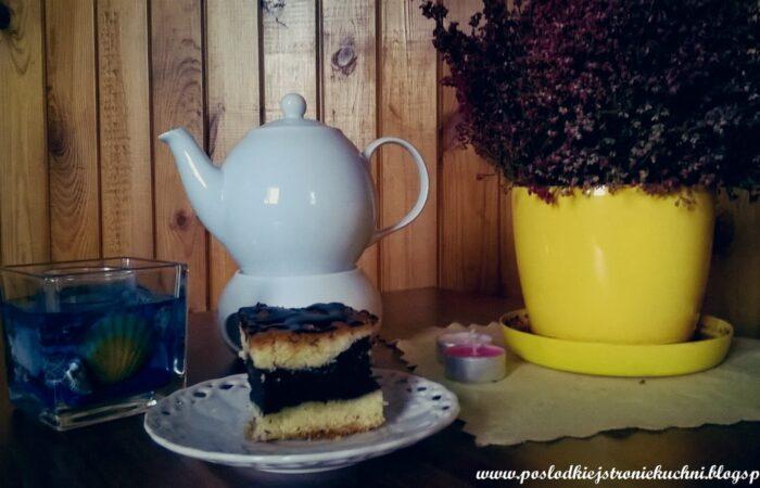 ciasto przekładane z makiem